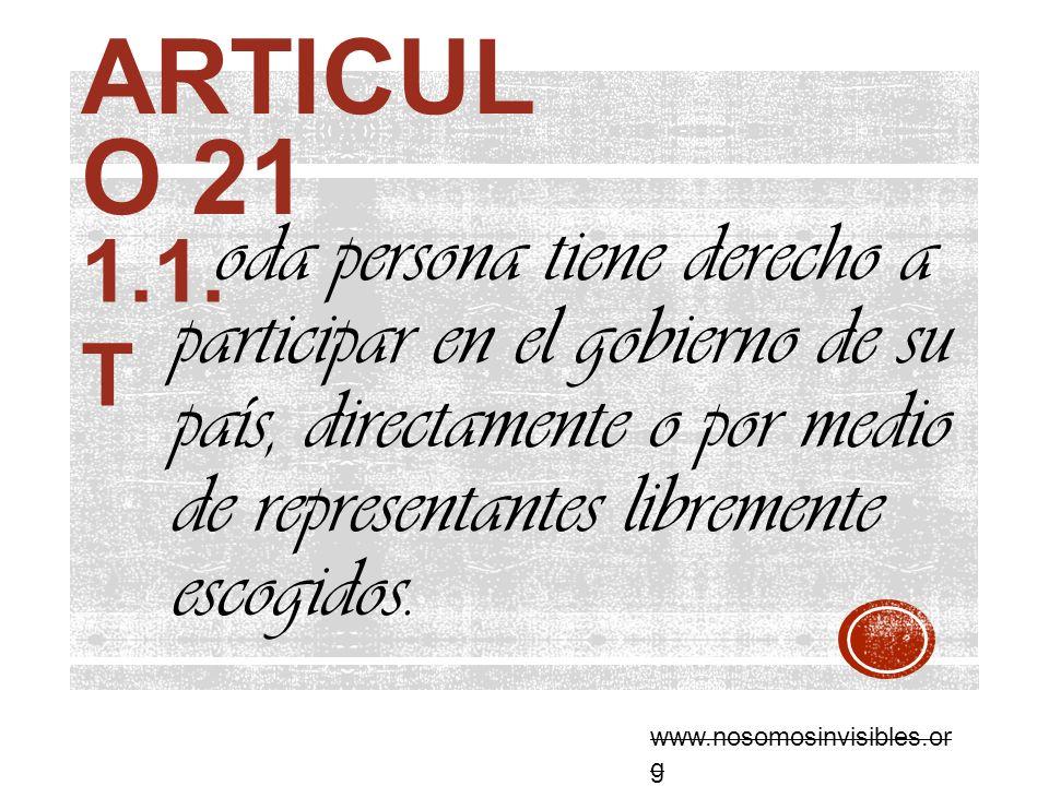 Articulo 21 1.1.T.