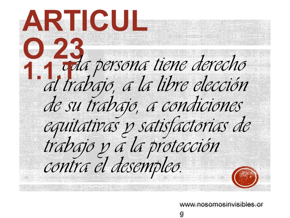 Articulo 23 1.1.T.