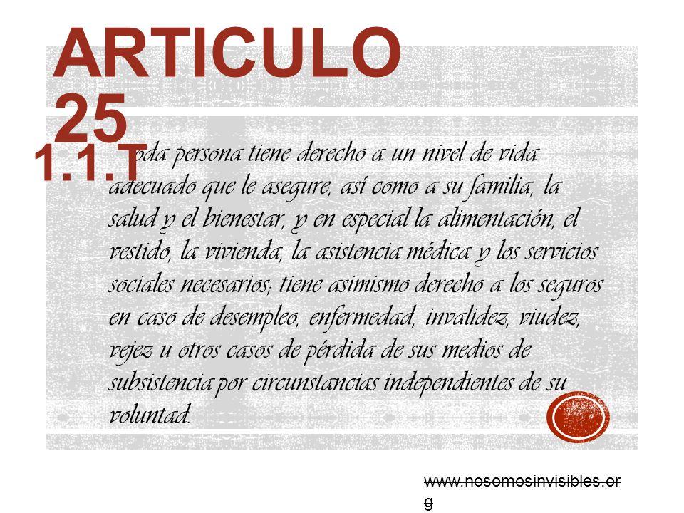 Articulo 25 1.1.T.