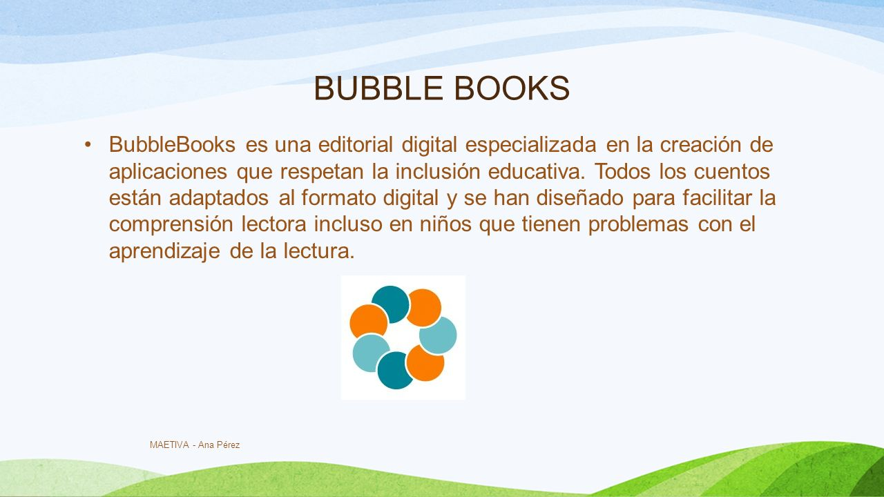 BUBBLE BOOKS
