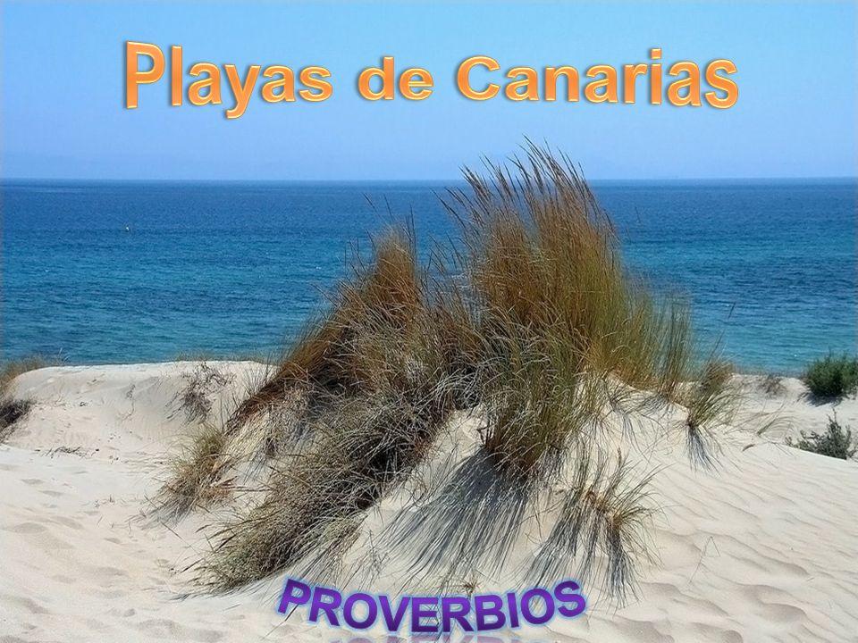 Playas de Canarias PROVERBIOS