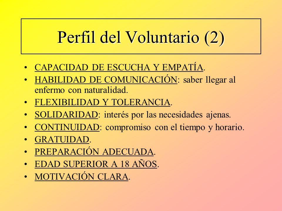 Perfil del Voluntario (2)