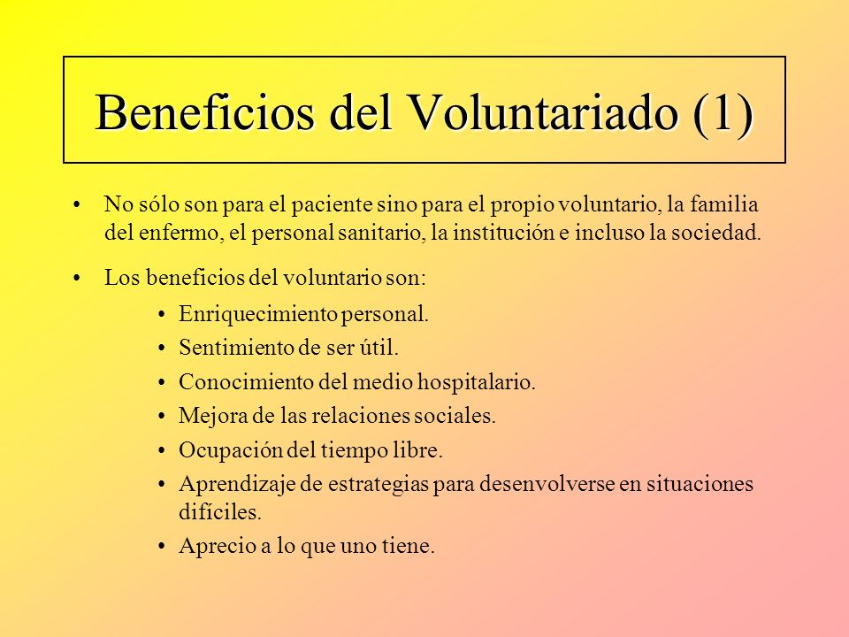 Beneficios del Voluntariado (1)