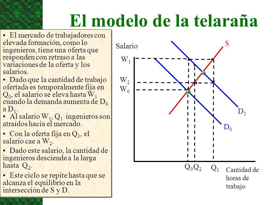 El modelo de la telaraña
