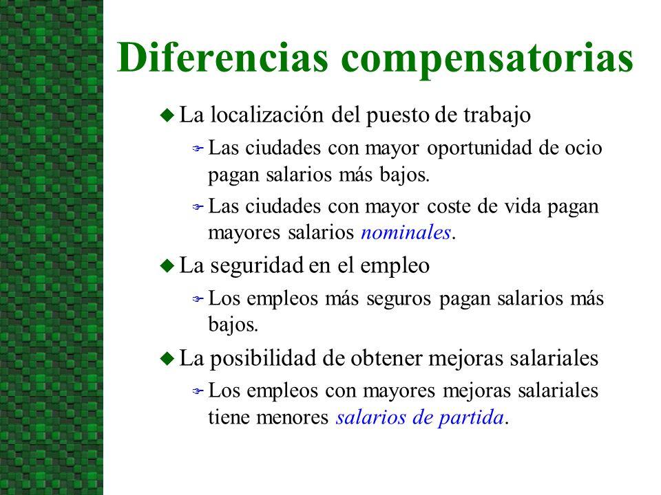 Diferencias compensatorias
