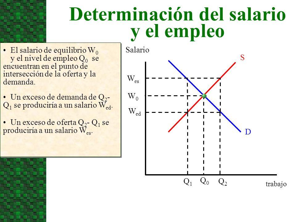 Determinación del salario y el empleo