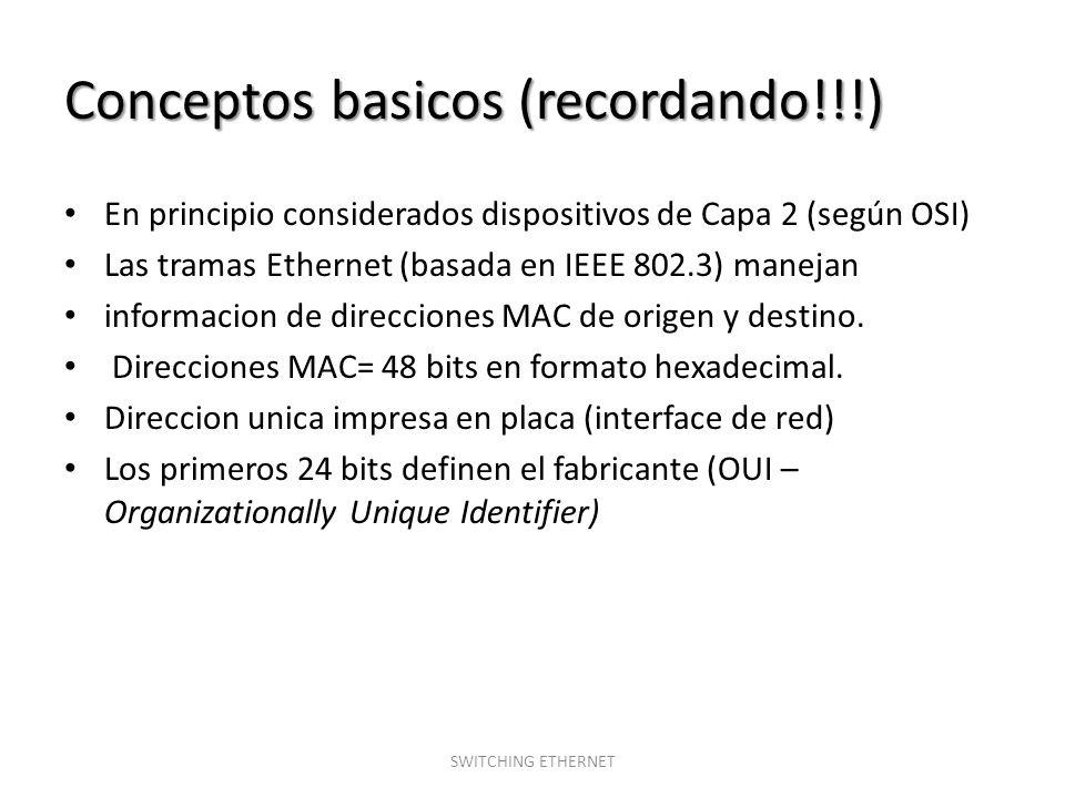 Conceptos basicos (recordando!!!)