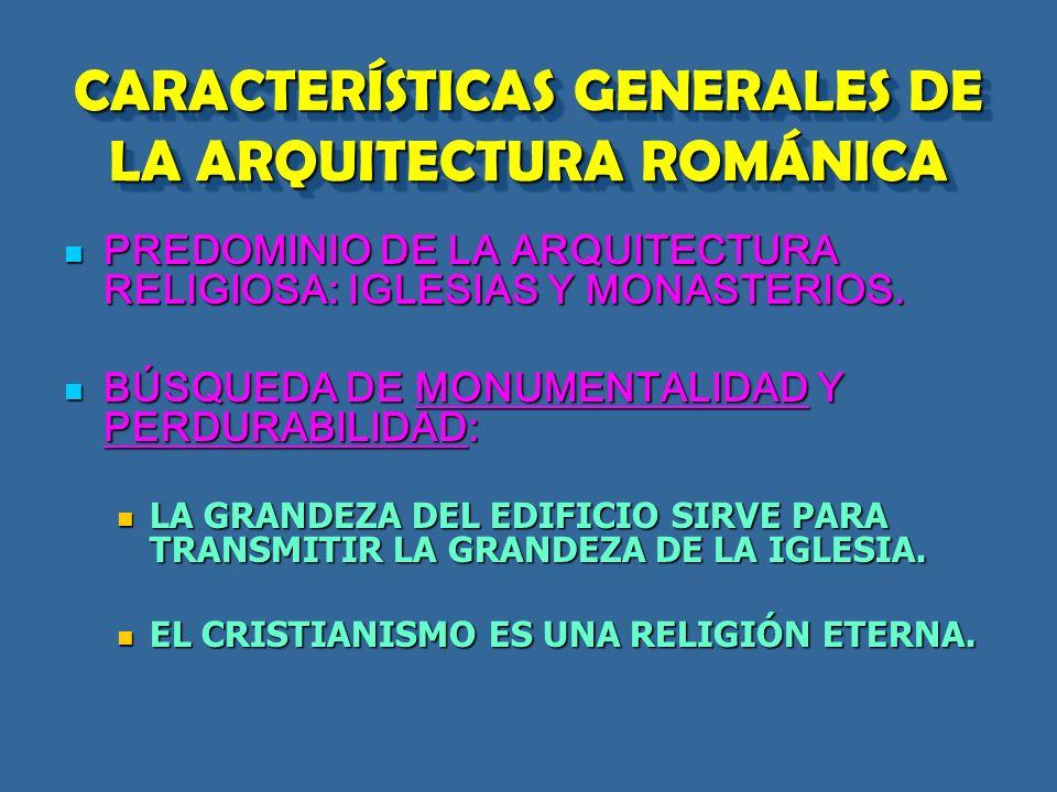 Arte rom nico ppt descargar for Caracteristicas de la arquitectura