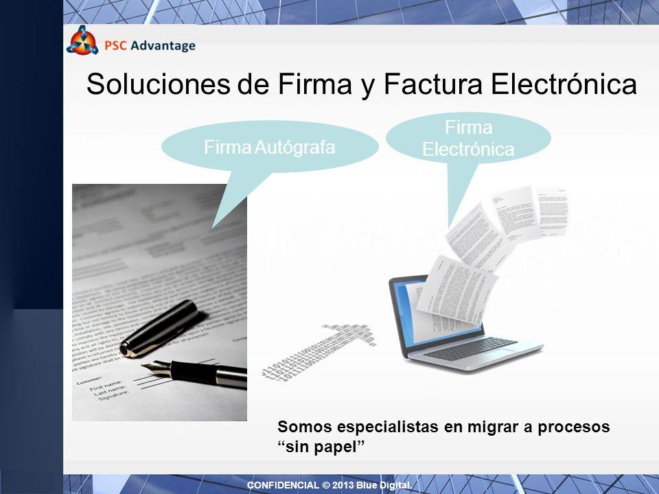 Soluciones de Firma y Factura Electrónica