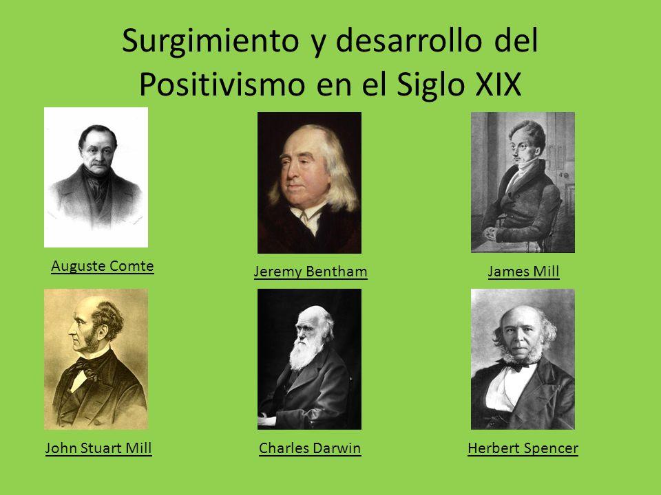 Surgimiento y desarrollo del Positivismo en el Siglo XIX