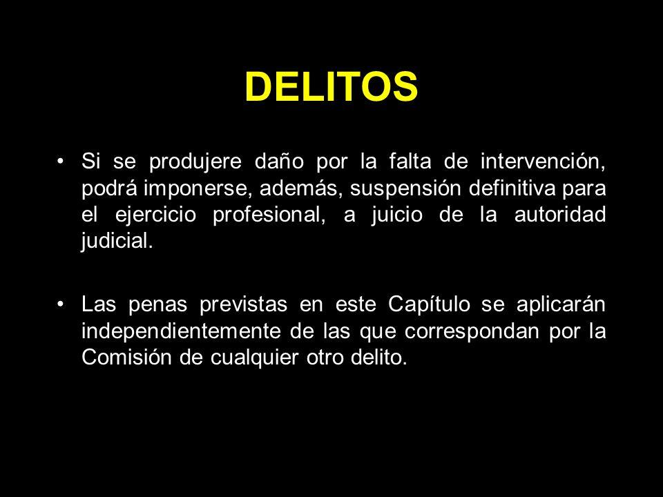 DELITOS