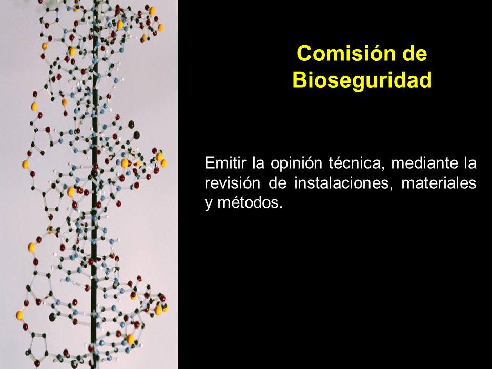 Comisión de Bioseguridad