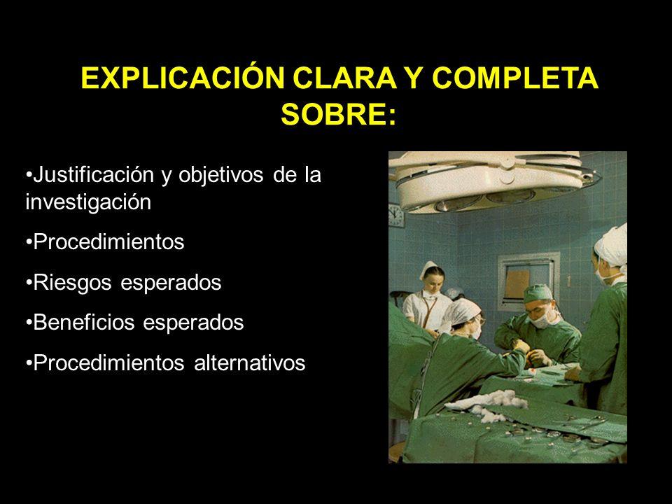 EXPLICACIÓN CLARA Y COMPLETA SOBRE: