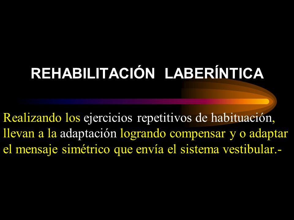 REHABILITACIÓN LABERÍNTICA