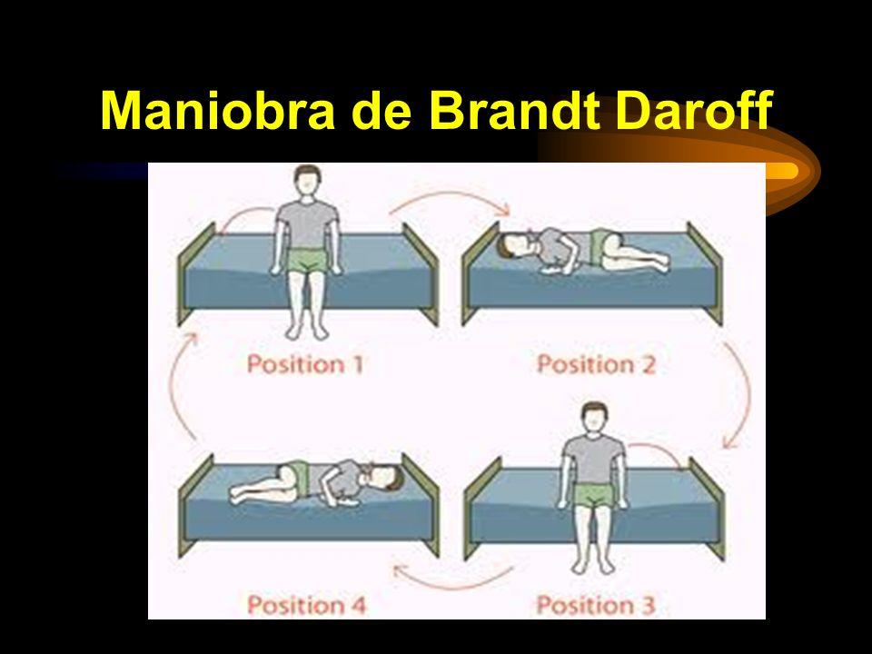 Maniobra de Brandt Daroff