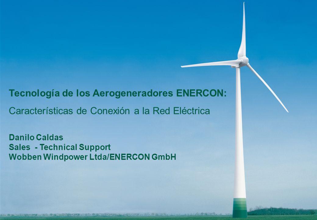 Tecnología de los Aerogeneradores ENERCON: