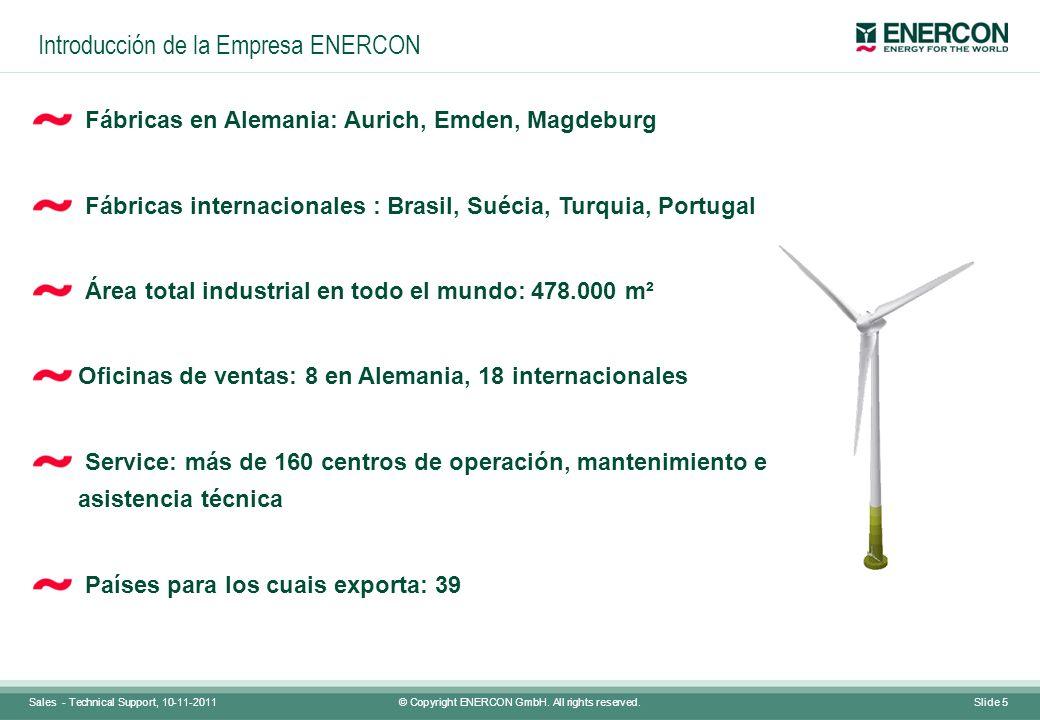 Introducción de la Empresa ENERCON