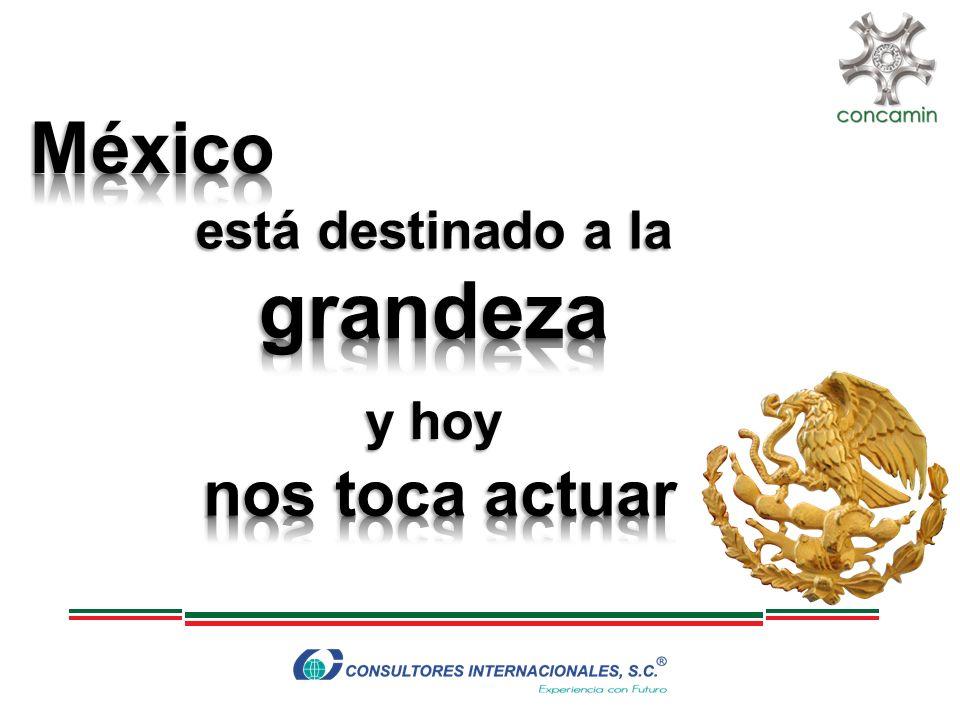 México está destinado a la grandeza y hoy nos toca actuar