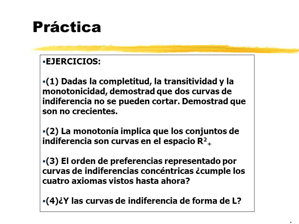 Práctica EJERCICIOS: