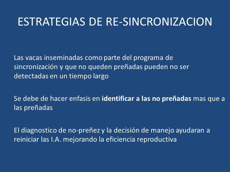 ESTRATEGIAS DE RE-SINCRONIZACION