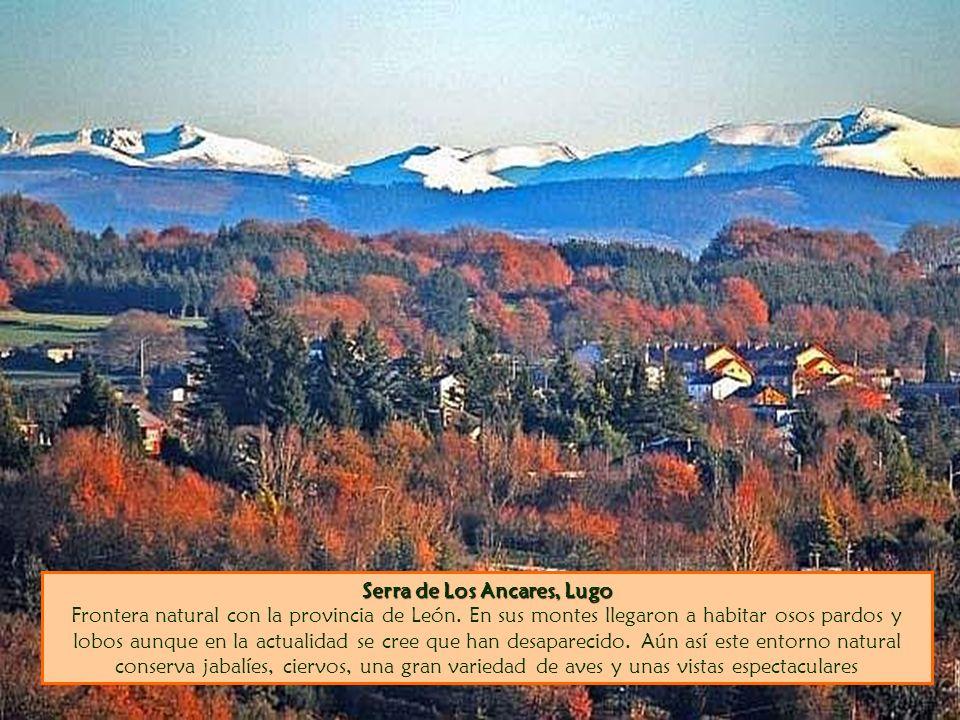 Serra de Los Ancares, Lugo Frontera natural con la provincia de León
