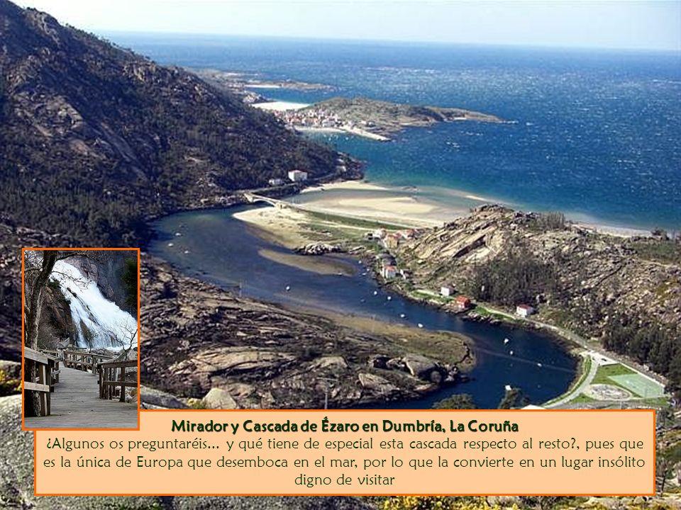 Mirador y Cascada de Ézaro en Dumbría, La Coruña ¿Algunos os preguntaréis...