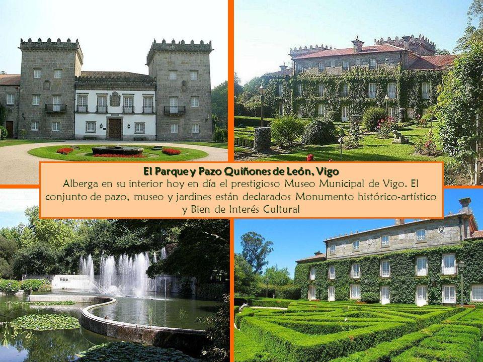 El Parque y Pazo Quiñones de León, Vigo Alberga en su interior hoy en día el prestigioso Museo Municipal de Vigo.