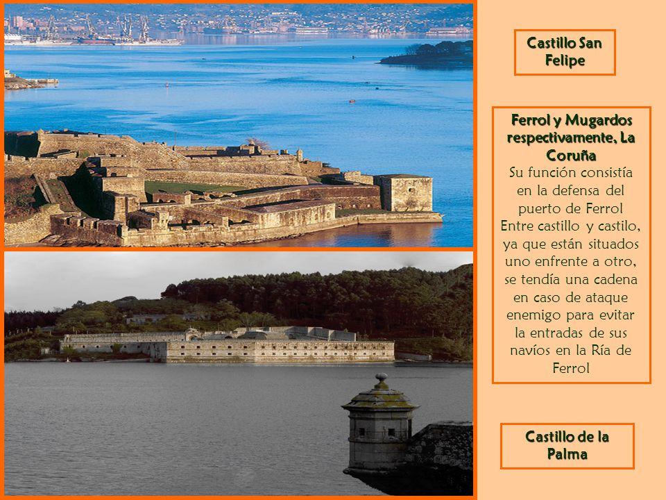 Ferrol y Mugardos respectivamente, La Coruña