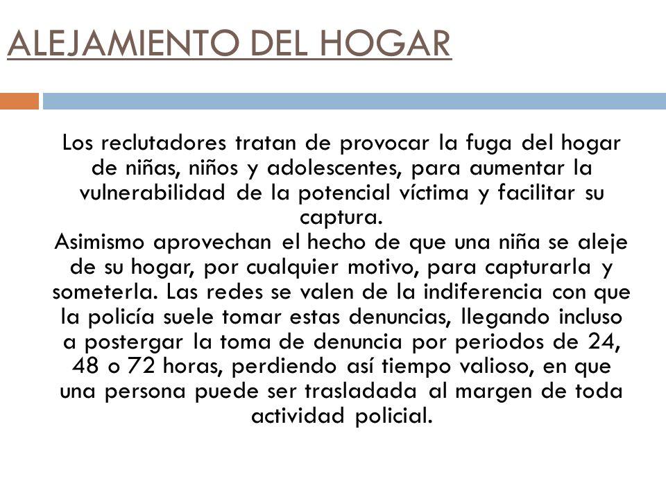 ALEJAMIENTO DEL HOGAR