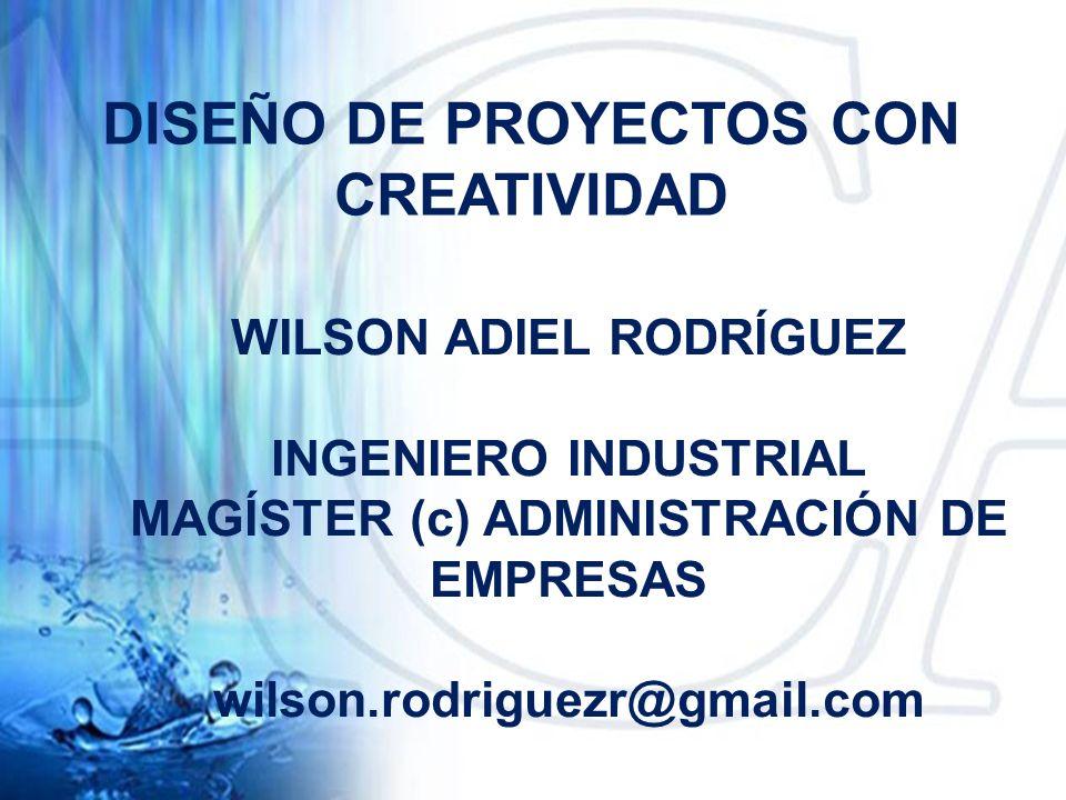 DISEÑO DE PROYECTOS CON CREATIVIDAD