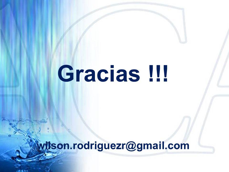 Gracias !!! wilson.rodriguezr@gmail.com