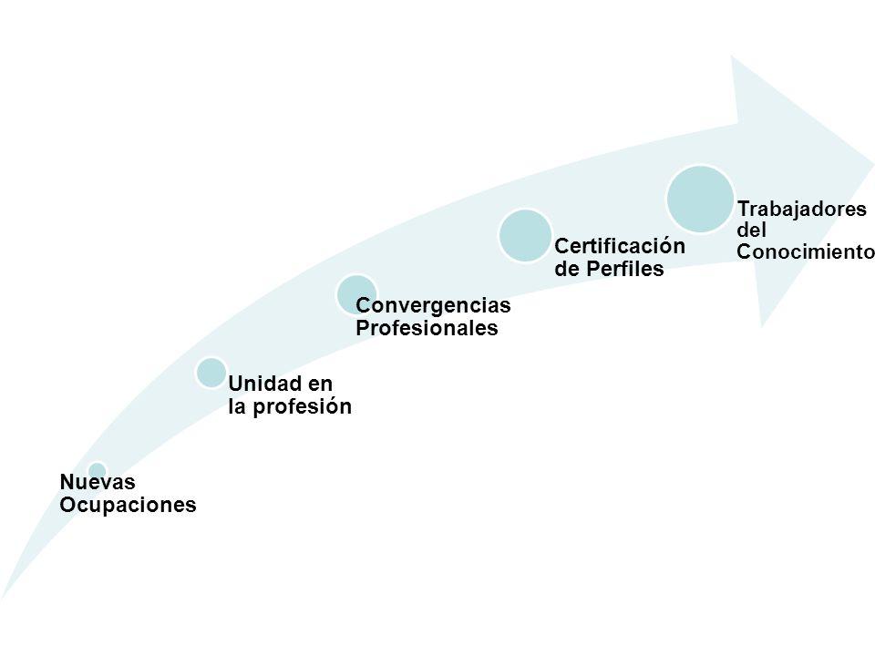 Convergencias Profesionales Certificación de Perfiles