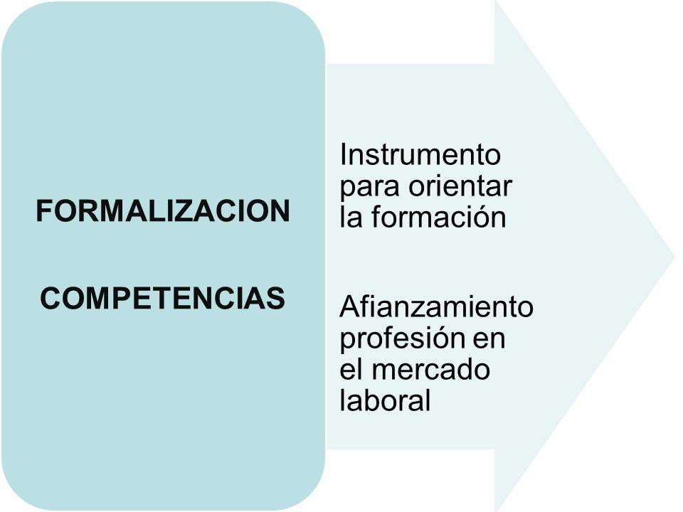 FORMALIZACION COMPETENCIAS