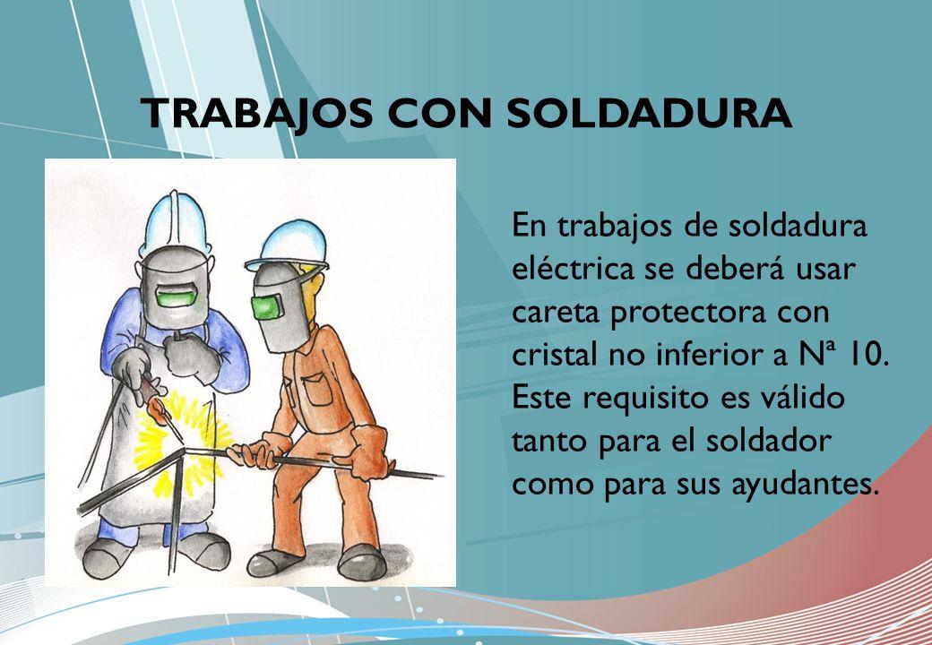 TRABAJOS CON SOLDADURA