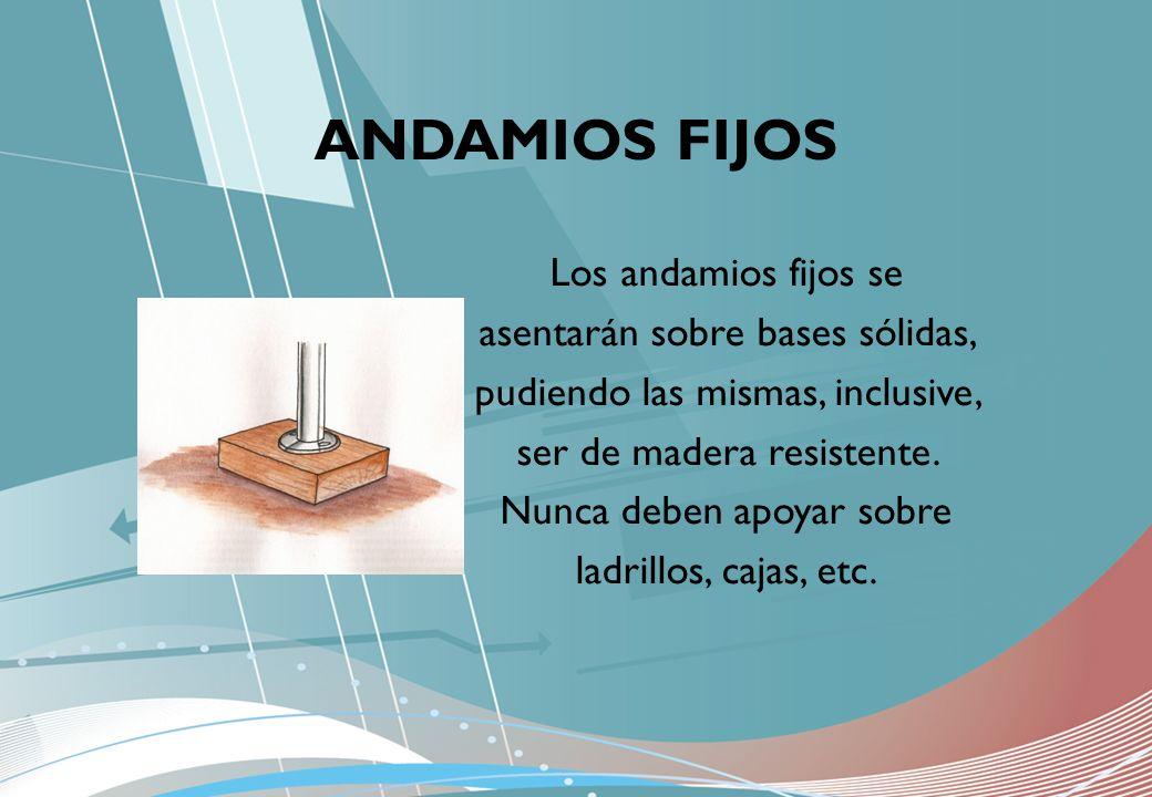 ANDAMIOS FIJOS