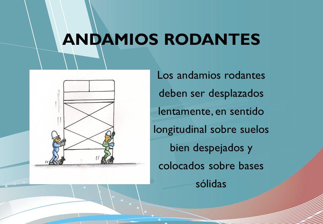 ANDAMIOS RODANTES