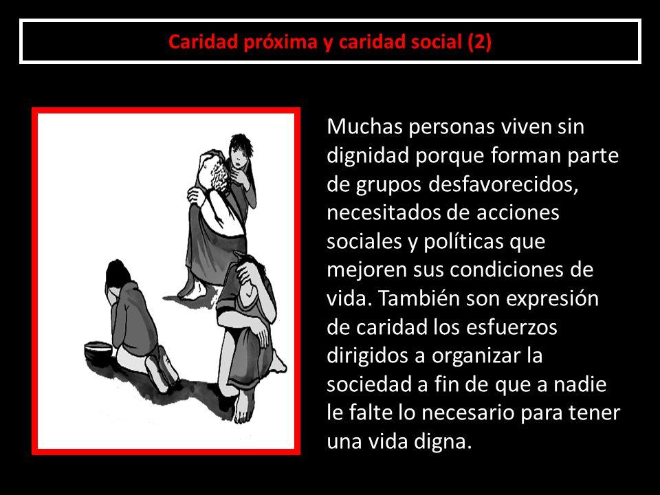 Caridad próxima y caridad social (2)