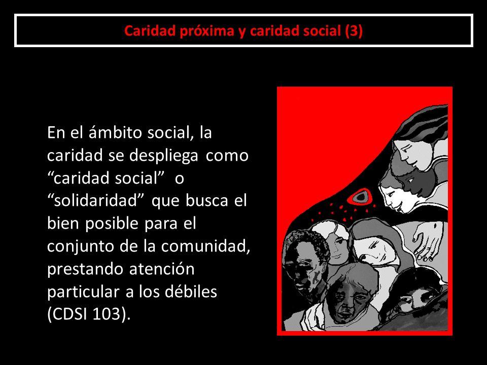 Caridad próxima y caridad social (3)