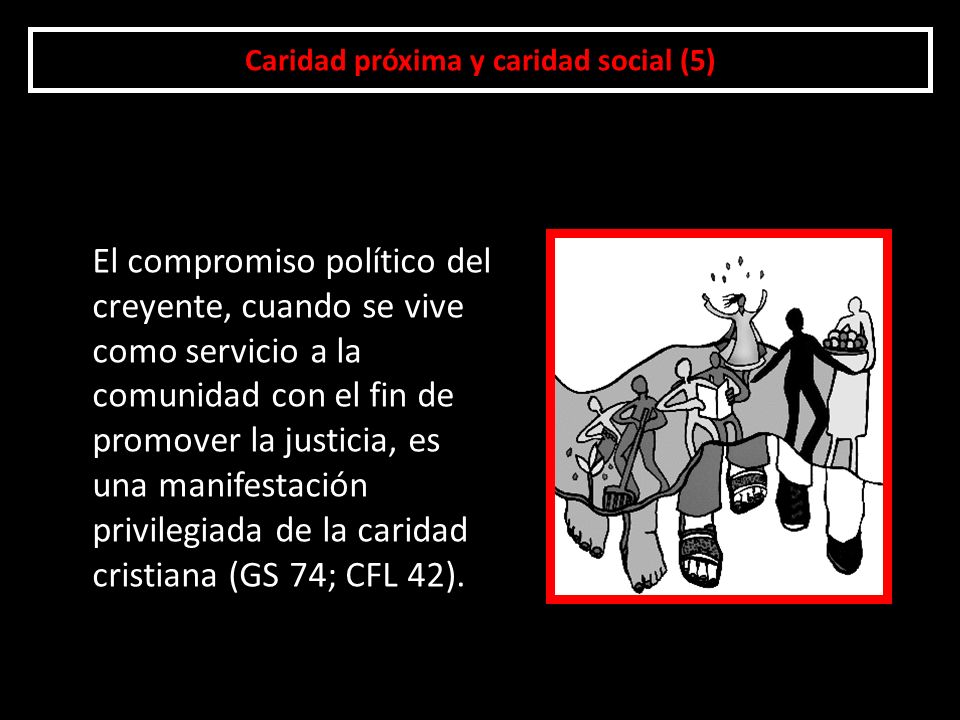 Caridad próxima y caridad social (5)