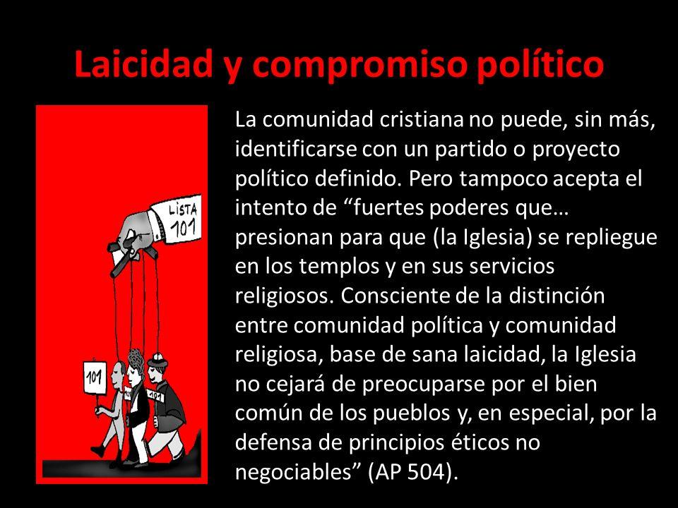Laicidad y compromiso político