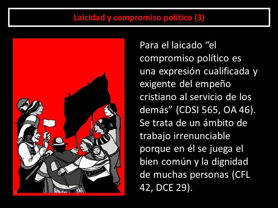 Laicidad y compromiso político (3)