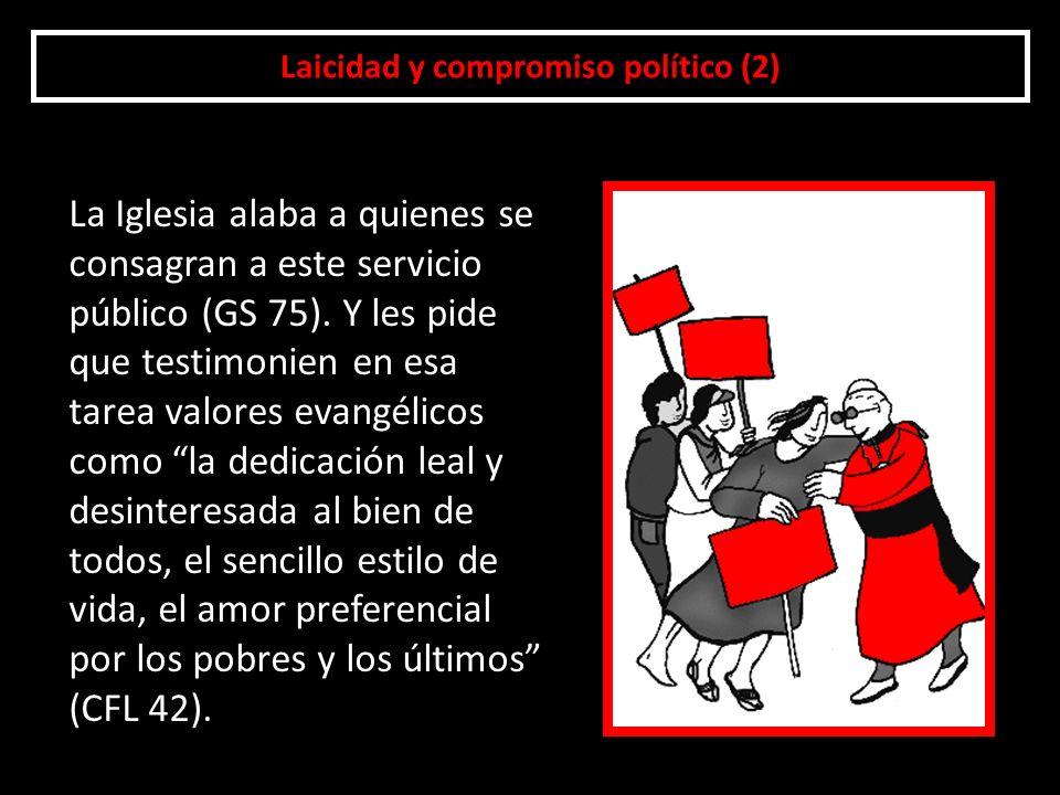 Laicidad y compromiso político (2)