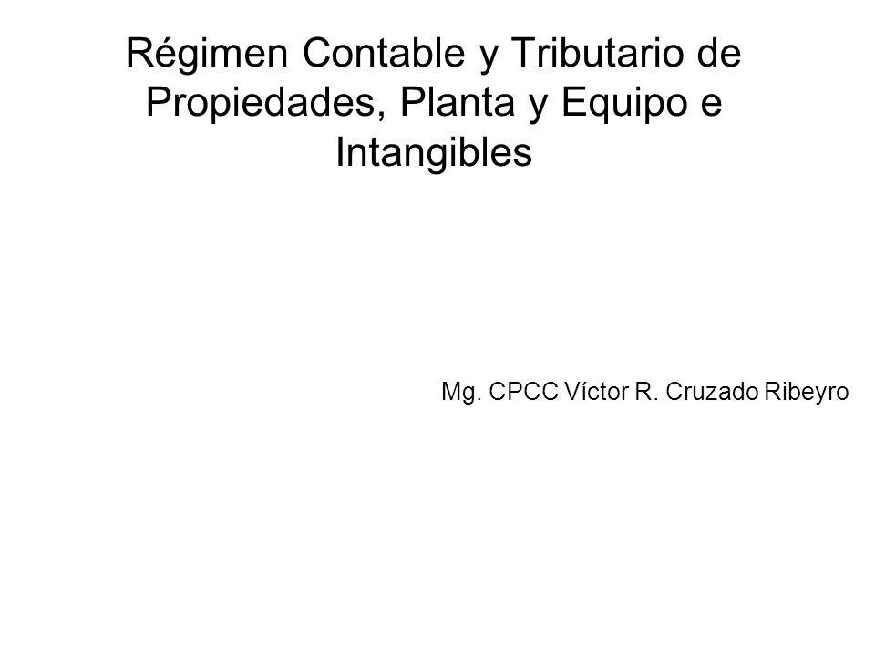 Mg. CPCC Víctor R. Cruzado Ribeyro