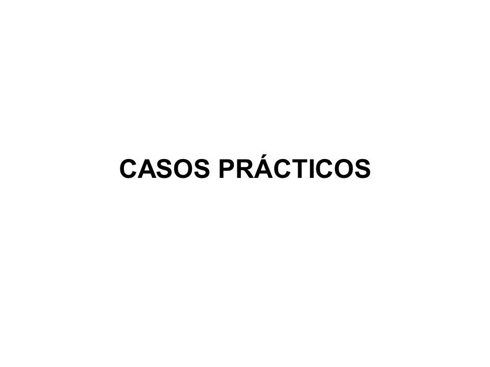 CASOS PRÁCTICOS