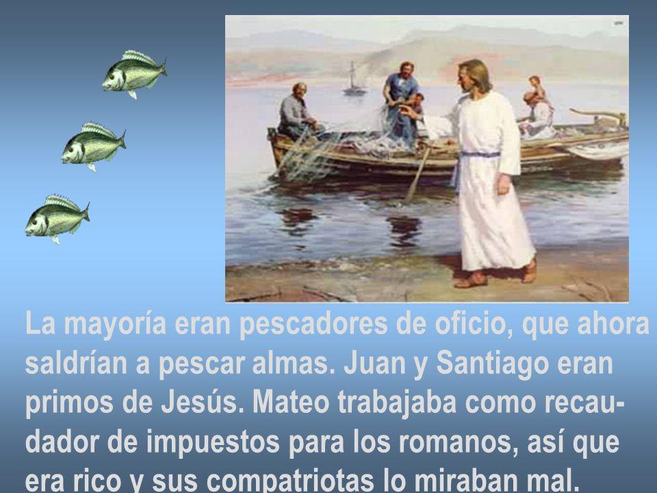 La mayoría eran pescadores de oficio, que ahora