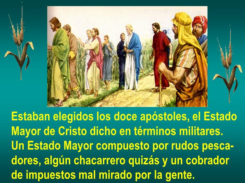 Estaban elegidos los doce apóstoles, el Estado