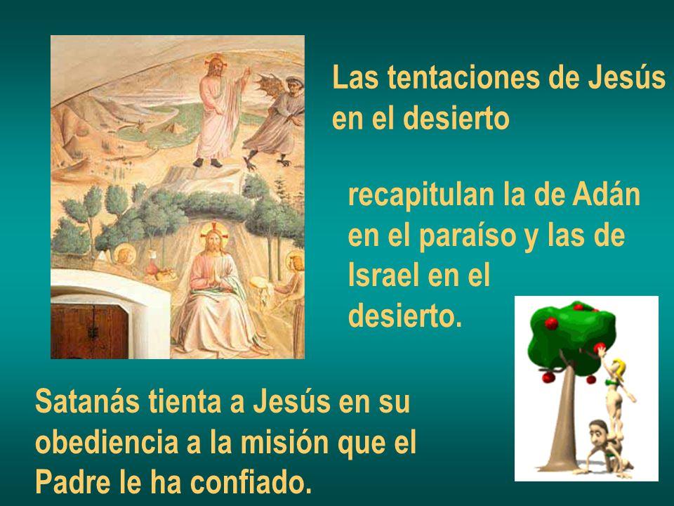 Las tentaciones de Jesús