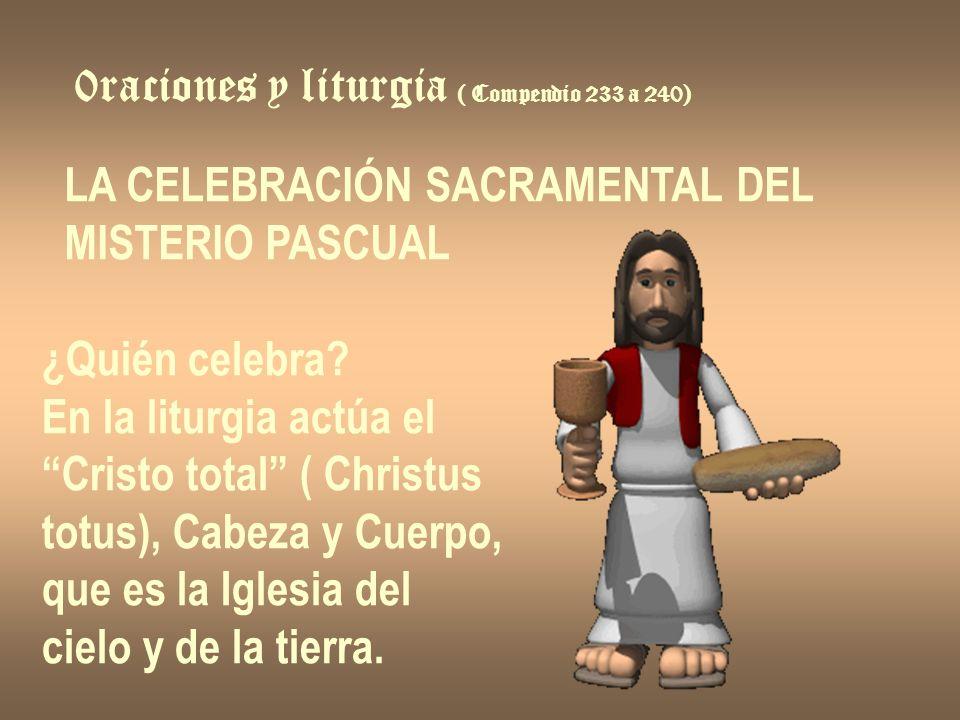 0raciones y liturgia ( Compendio 233 a 240)
