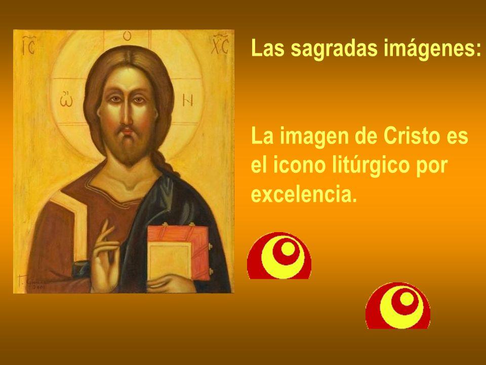 Las sagradas imágenes: