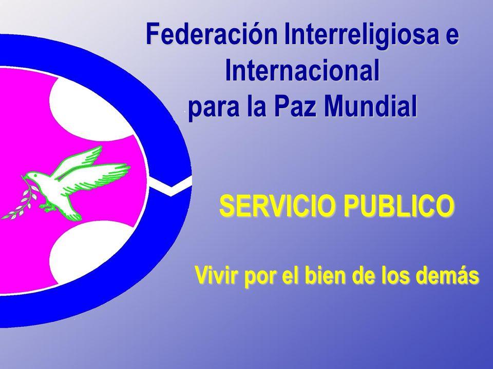 Federación Interreligiosa e Internacional para la Paz Mundial